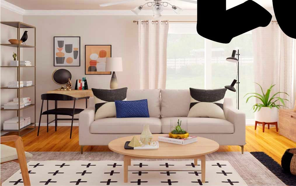 Online Interior Design with Modsy | Living Rooms, Dining
